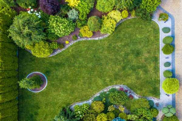 parc et jardin zone verte