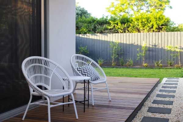 terrasse jardin urbain